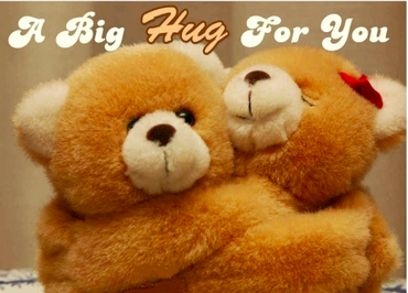 A hug just for you