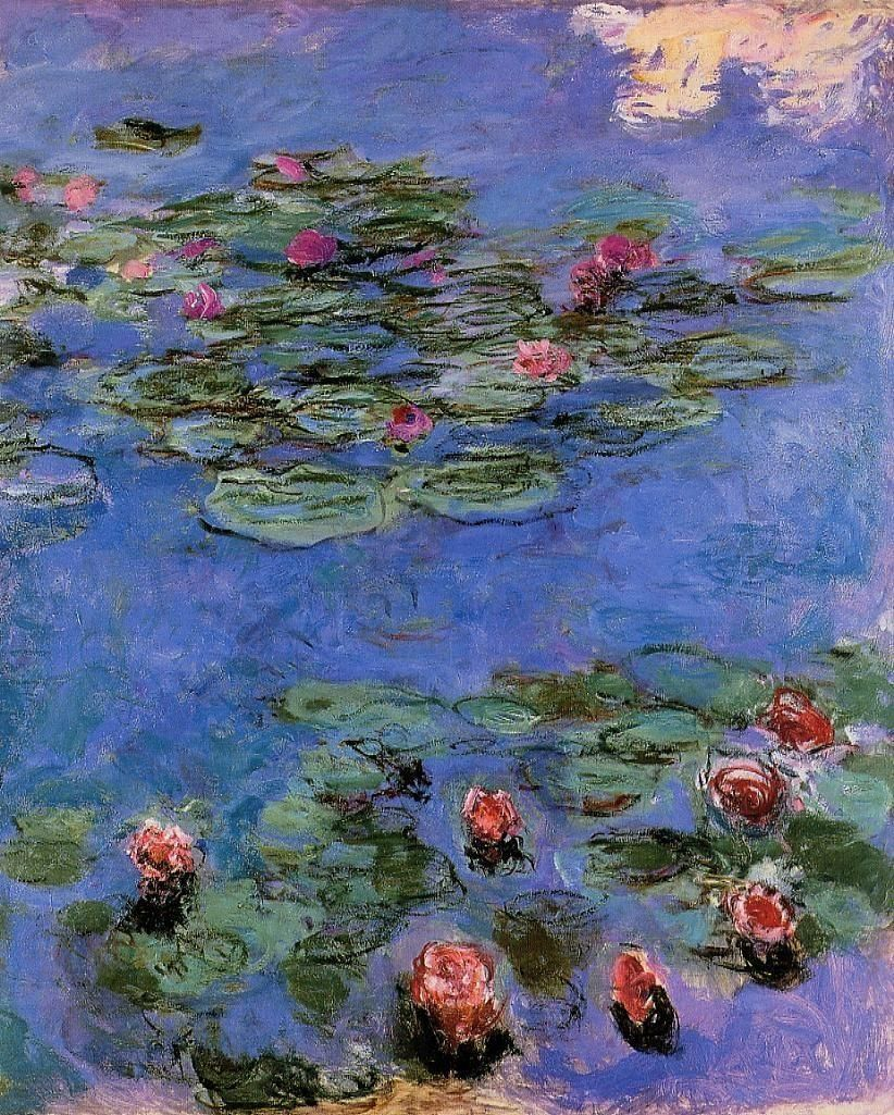 Water Lily - Claude Monet oil painting